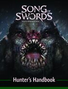 Song of Swords Hunter's Handbook