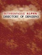 MA: Directory of Denizens