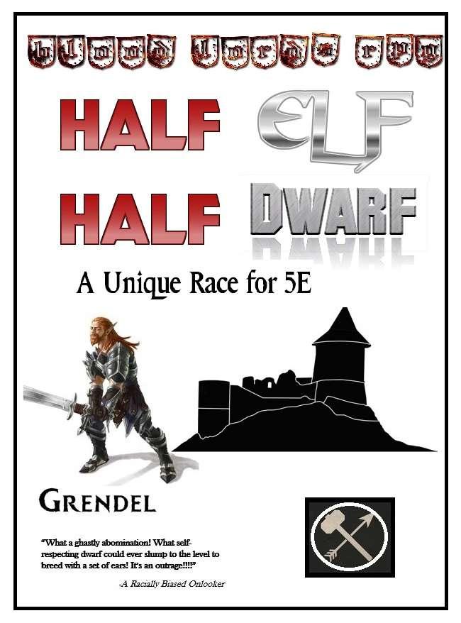 5e Race: The Grendel - Blood Lords RPG | DriveThruRPG com