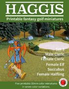 HAGGIS Printable Fantasy Miniatures Set 3
