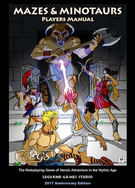 Mazes & Minotaurs Players Manual - Legrand Games Studio