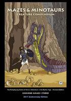 Mazes & Minotaurs Creature Compendium