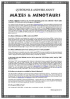 About Mazes & Minotaurs