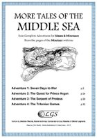 More Tales of the Middle Sea (Mazes & Minotaurs)