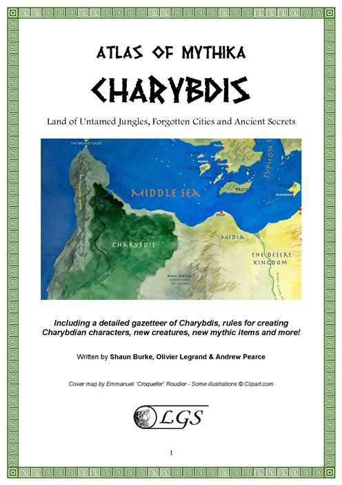 Atlas of Mythika: Charybdis