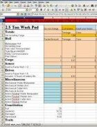 StarCluster 3 Ship Design Spreadsheet