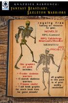 Beastiary 01 - Skeleton Warriors Art Pack