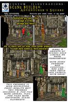 Scene Builder Playset: Adventurer's Square