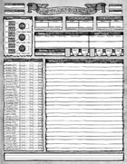 Golden Oceans: Character Sheet