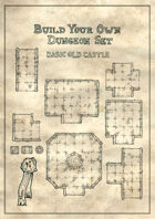 Build your own dungeon set - Basic old castle