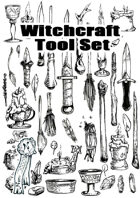 Witchcraft Tool Set - Illustrations - Stock Art