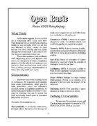 Open Basic: Retro d100 Roleplaying