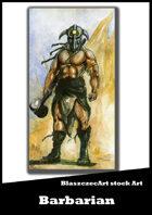 BlaszczecArt Stock Art: Barbarian 1