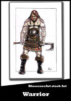 BlaszczecArt Stock Art: Scottish Warrior