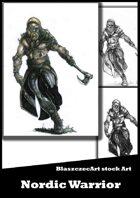 BlaszczecArt Stock Art: Viking Warrior