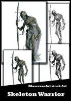 BlaszczecArt Stock Art: Undead Warrior