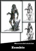 BlaszczecArt Stock Art: Zombie