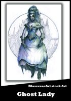 BlaszczecArt Stock Art: Ghost Lady