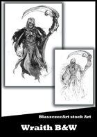 BlaszczecArt Stock Art: Wraith - B&W