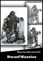 BlaszczecArt Stock Art: Dwarf Warrior