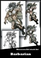 BlaszczecArt Stock Art: Barbarian 4