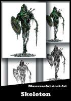 BlaszczecArt Stock Art: Skeleton