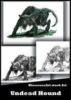 BlaszczecArt Stock Art: Undead Hound