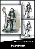 BlaszczecArt Stock Art: Survivor