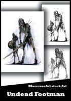 BlaszczecArt Stock Art: Undead Footman