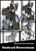 BlaszczecArt Stock Art: Undead Horseman