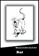 BlaszczecArt Stock Art: Rat