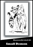 BlaszczecArt Stock Art: Small Demon