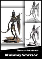 BlaszczecArt Stock Art: Mummy Warrior