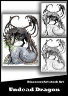 BlaszczecArt Stock Art: Undead Dragon