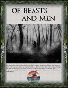 Of Beasts and Men