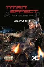 Titan Effect RPG: Demo Kit