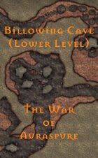 The War of Auraspure - Billowing Cave (Lower Level)