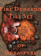 The Fire Dungeon Tile Set | The War of Auraspure