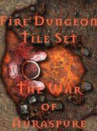 The Fire Dungeon Tile Set | The War of Auraspure