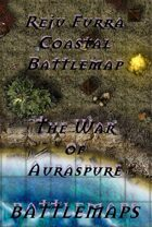 Reju Furra Coastal Battlemap | Battlemap - The War of Auraspure