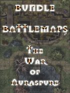 The War of Auraspure - Battlemaps [BUNDLE]