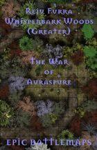 Whisperbark Woods (Greater) | Battlemap - The War of Auraspure