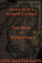 Feezalmud's Goblin Cavern | Battlemap - The War of Auraspure