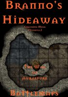 Branno's Hideaway - Cracking Mesa | Battlemap - The War of Auraspure
