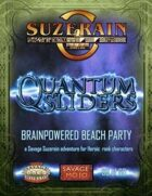 Quantum Sliders: Brain Powered Beach Party