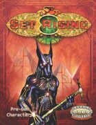 Set Rising Characters (Savage Worlds)