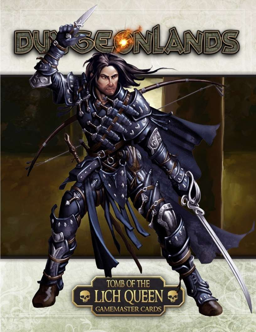 Dungeonlands: Tomb of the Lich Queen Gamemaster Cards & Tables (Savage  Worlds) - Savage Mojo | Dungeonlands | DriveThruRPG com