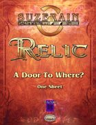 Relic: A Door to Where?
