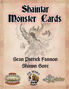 Shaintar Monster Cards