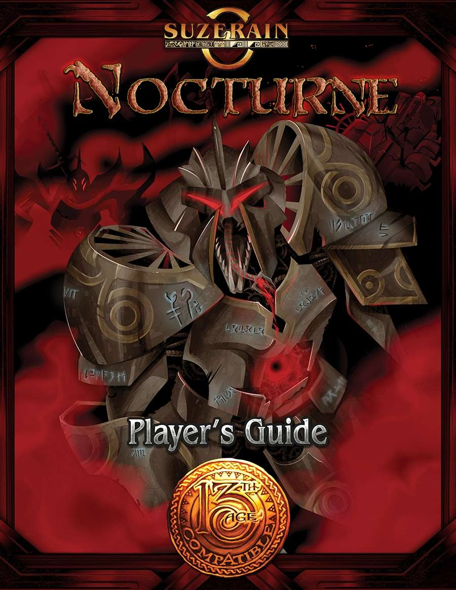 Nocturne players guide 13th age compatible savage mojo for Bureau 13 rpg pdf